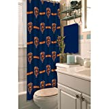 NFL Chicago Bears Decorative Shower Curtain
