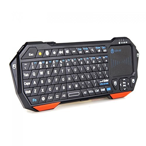 Portable Keyboard Mouse Tray Portable Battery Operated Blender Portable Projector Makro Portable Bluetooth Speaker And Radio: IClever Computer Keyboards Mini Portable Wireless