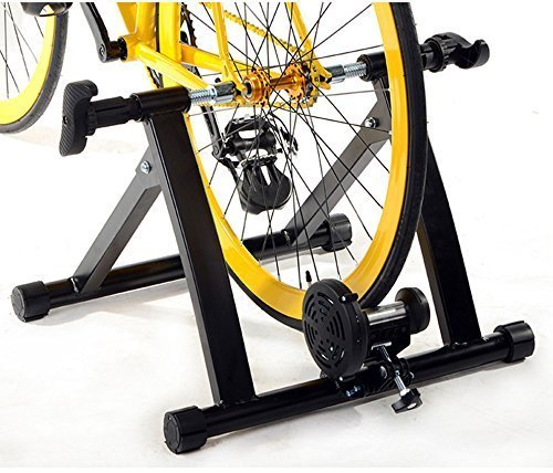 Indoor Cycling Trainer Za: Ohuhu Magnet Steel Bike Bicycle Indoor Exercise Trainer
