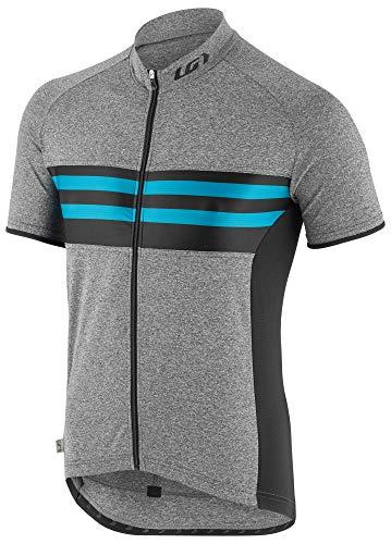 - Louis Garneau Men's Classic Cycling Jersey, Blue Stripe, X-Large