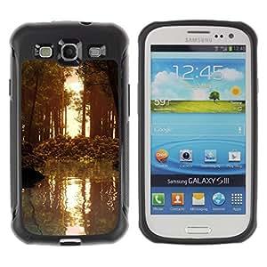 "Hypernova Defender Series TPU protection Cas Case Coque pour Samsung Galaxy S3 III I9300 [Naturaleza Forrest Sun""]"
