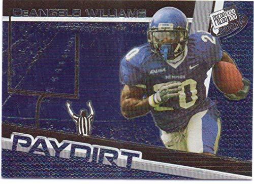 DeAngelo Williams 2006 Press Pass Paydirt #PD 7 - Carolina Panthers, Memphis Tigers, -