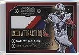 Football NFL 2016 Gala Main Attractions Memorabilia Crimson #33 Sammy Watkins MEM /10 Bills