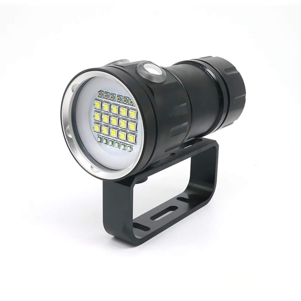 New LED Diving Flashlight Underwater 80M XHP70 / L2 Photography Video Camera Tactical Flashlight Blue+White LED Lanterna Torch