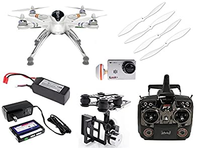 Xiangtat Walkera QR X350 PRO GPS FPV Quadcopter Drone With Devo F7 Radio & G-2D Gimbal & HD iLook+ Camera & 5.8ghz Antenna, Battery, Charger RTF