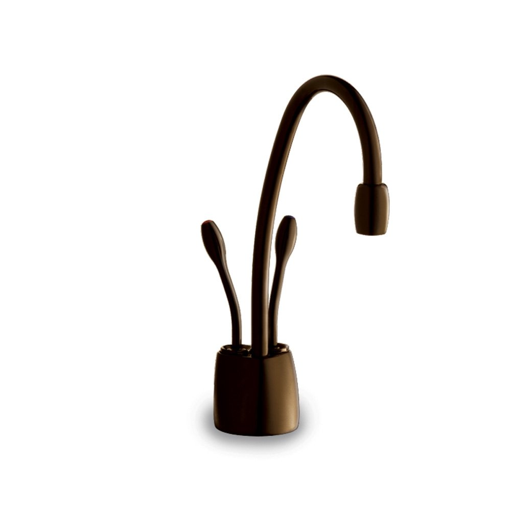 InSinkErator F-HC1100ORB Indulge Contemporary Hot and Cold Water Dispenser Faucet, Oil Rubbed Bronze by InSinkErator