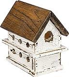 """Lighted Chalet Birdhouse, 4.5"""" x 3.25"""" x 4.75"""""""