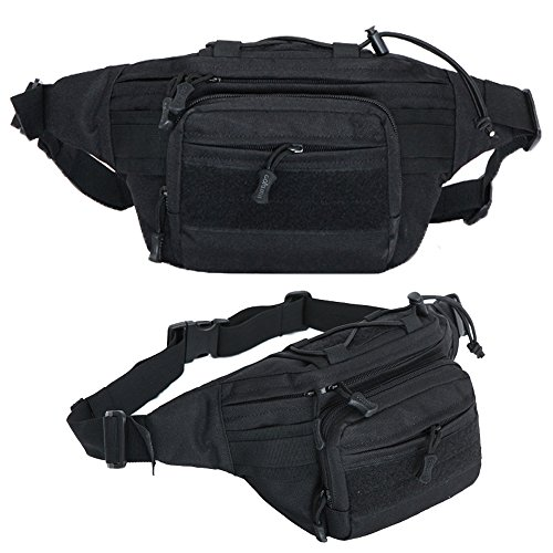 Waterproof 600D Oxford Waist Bag Tactical Molle EDC Outdoor Bag - 5