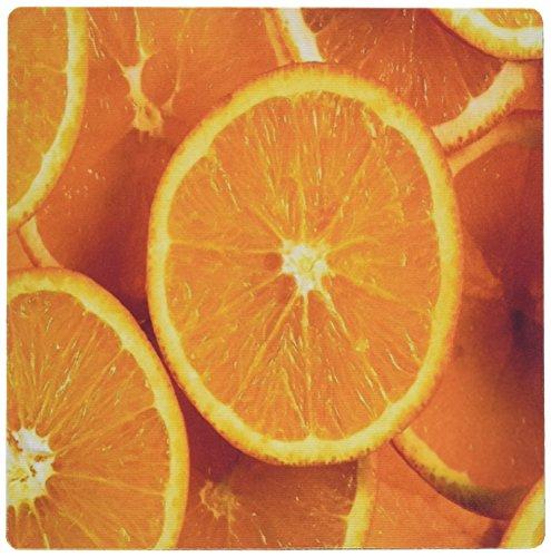 - 3dRose LLC 8 x 8 x 0.25 Fresh Orange Slices Mouse Pad (mp_80479_1)
