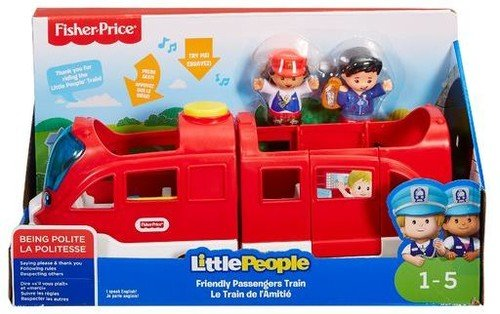 - Fisher-Price Little People Vehicle Train, Large