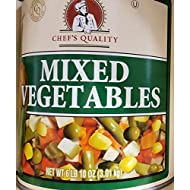 Chef's Quality Canned Mixed Vegetables 3.01kg - 6lb 10oz Kosher