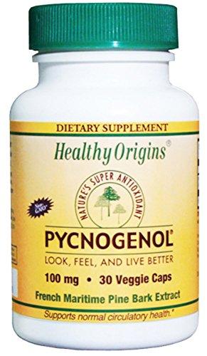 Healthy Origins Pycnogenol Veg Caps 100Mg 30 Cap
