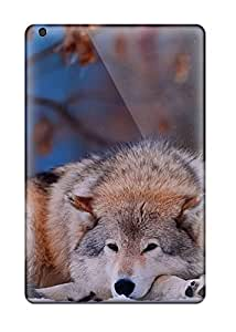 Defender Case With Nice Appearance (animal Wolf) For Ipad Mini/mini 2