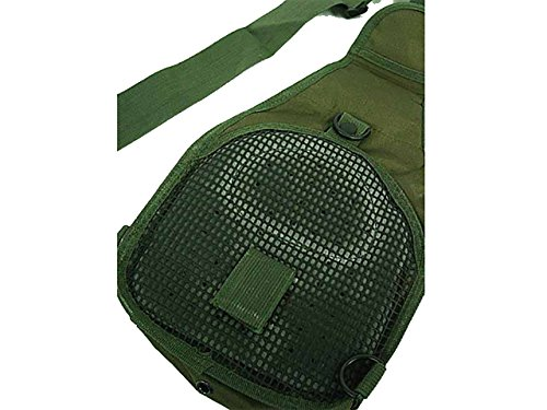 Tactical Molle Utility 3 Ways Schulter Sling Tasche Rucksack Brust Tasche Small OD