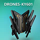 Triple A KY601 Foldable HD Camera Quadcopter RC Drone WiFi FPV Live Helicopter Hover