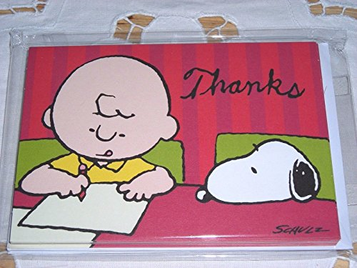 Thank You Notes Peanuts - Thank Snoopy You