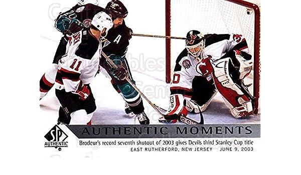 Amazon.com  (CI) Martin Brodeur Hockey Card 2012-13 SP Authentic (base) 169 Martin  Brodeur  Collectibles   Fine Art 13c905cab
