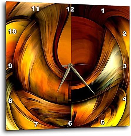 3dRose DPP_3083_3 Digital Artwork Design 10 Wall Clock, 15 by 15-Inch