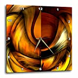3dRose dpp_3083_3 Digital Artwork Design 10 Wall Clock, 15 by 15-Inch For Sale