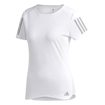 Adidas RS SS tee W Camiseta, Mujer, Blanco, XS