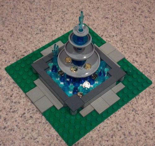 Lego Town Hall Fountain Custom Instructions - DJ Gilbert