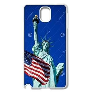 Unique Phone Case Design 20Statue of Liberty- For Samsung Galaxy NOTE3 Case Cover