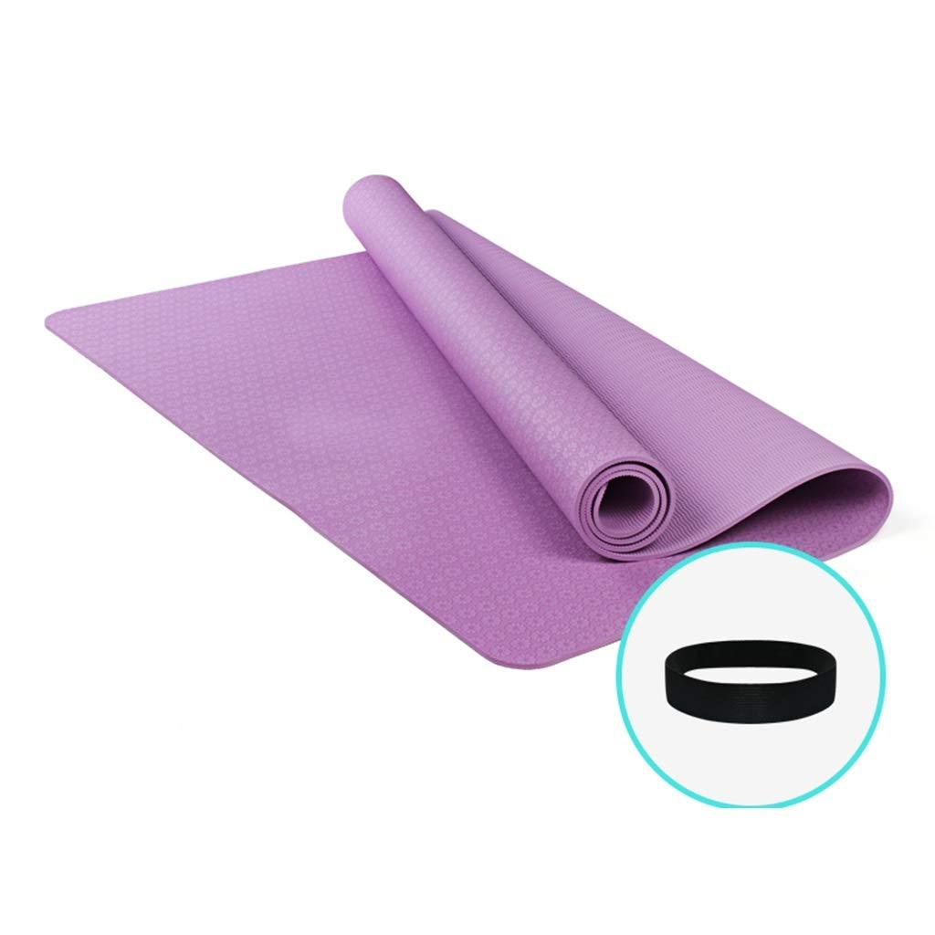 ZEQUAN Colchoneta De Yoga 185x122cm Colchoneta De Fitness ...