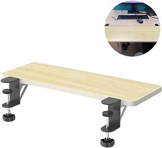 Amazon.com: Desktop Extension Table,Foldable Keyboard Tray ...