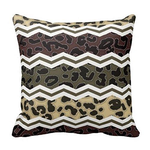 DIY-Pillow-CASE-VIP Beige y marrón tremel Superior con ...