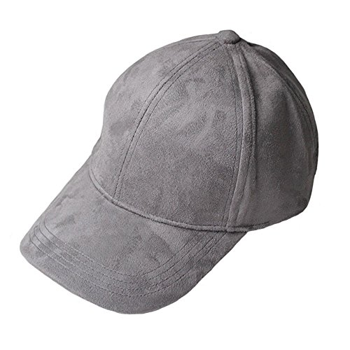 VANCOL Soft Faux Leather Suede Hat Baseball Cap (Dark (Faux Suede Buckle)