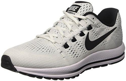 Nike Mens Air Zoom Vomero 12 Scarpe Da Corsa Bianco (bianco / Nero / Platino Puro)