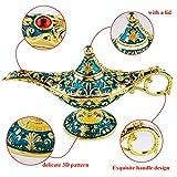 Sunmall Vintage Legend Aladdin Lamp Magic Genie