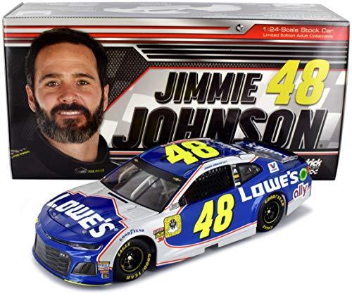 Jimmie Johnson Racing - Lionel Racing Jimmie Johnson 2018 Lowe's Finale Homestead NASCAR Diecast Car 1:24 Scale