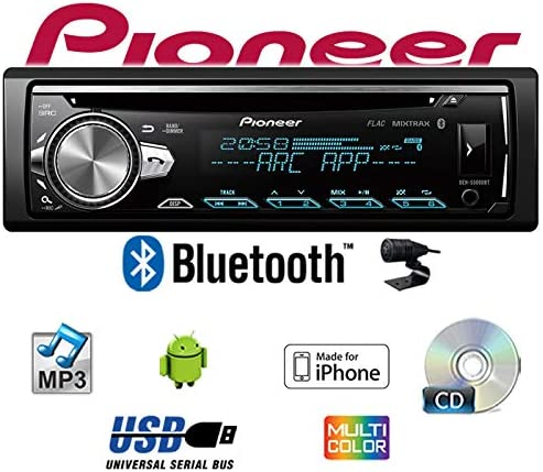 Autoradio Radio Pioneer DEH-S5000BT JUST SOUND best choice for caraudio 35i Bluetooth MP3 iPhone 12V Radiopaket Einbauzubeh/ör Android USB Einbauset f/ür VW Passat 3A CD