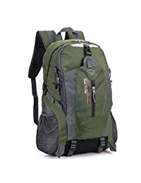 Mountaintop Hiking Backpack,YUYUGO 36/55L Lightweight Backpacks for Climbing Camping Travelling Daypack