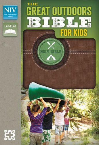 Read Online NIV, The Great Outdoors Bible for Kids, Imitation Leather, Brown, Red Letter ebook