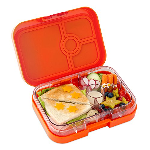 yumbox papaya orange leakproof bento lunch box container for kids and adults in the uae see. Black Bedroom Furniture Sets. Home Design Ideas