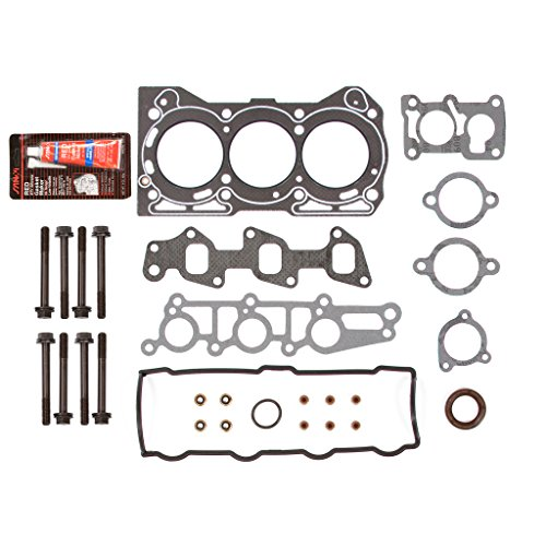 Evergreen HSHB8006 Cylinder Head Gasket Set Head Bolt