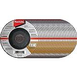 Makita A-95956-25 36 Grit INOX Grinding Wheel (Pack of 25), 4-1/2-Inchx1/4-Inchx7/8-Inch