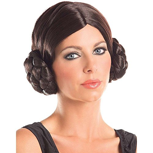 Party King Galactic Princess Costume Wig Black ()