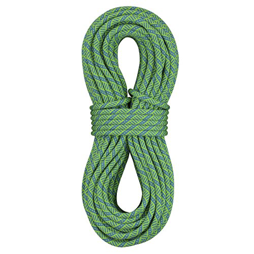 [Sterling Rope Evolution Helix Dry Climbing Rope, Neon Green, 70m] (70m Dry Rope)