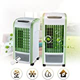 Inverlee Portable Multi Functional Fan Air Cinditonal 4 in 1 Air Cooler Green With Remote Control Fan Humidifier and Air Freshener (A)