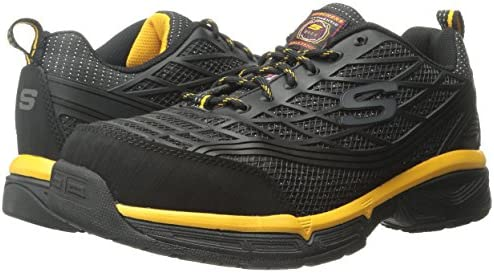 SKECHERS MENS 77526 Work Relaxed Fit