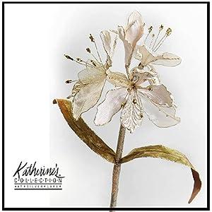Flowers Florals 11-32459 Encrusted Amaryllis Stem 43