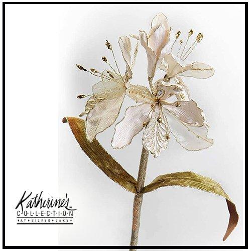 Flowers Florals 11-32459 Encrusted Amaryllis (Amaryllis Garland)