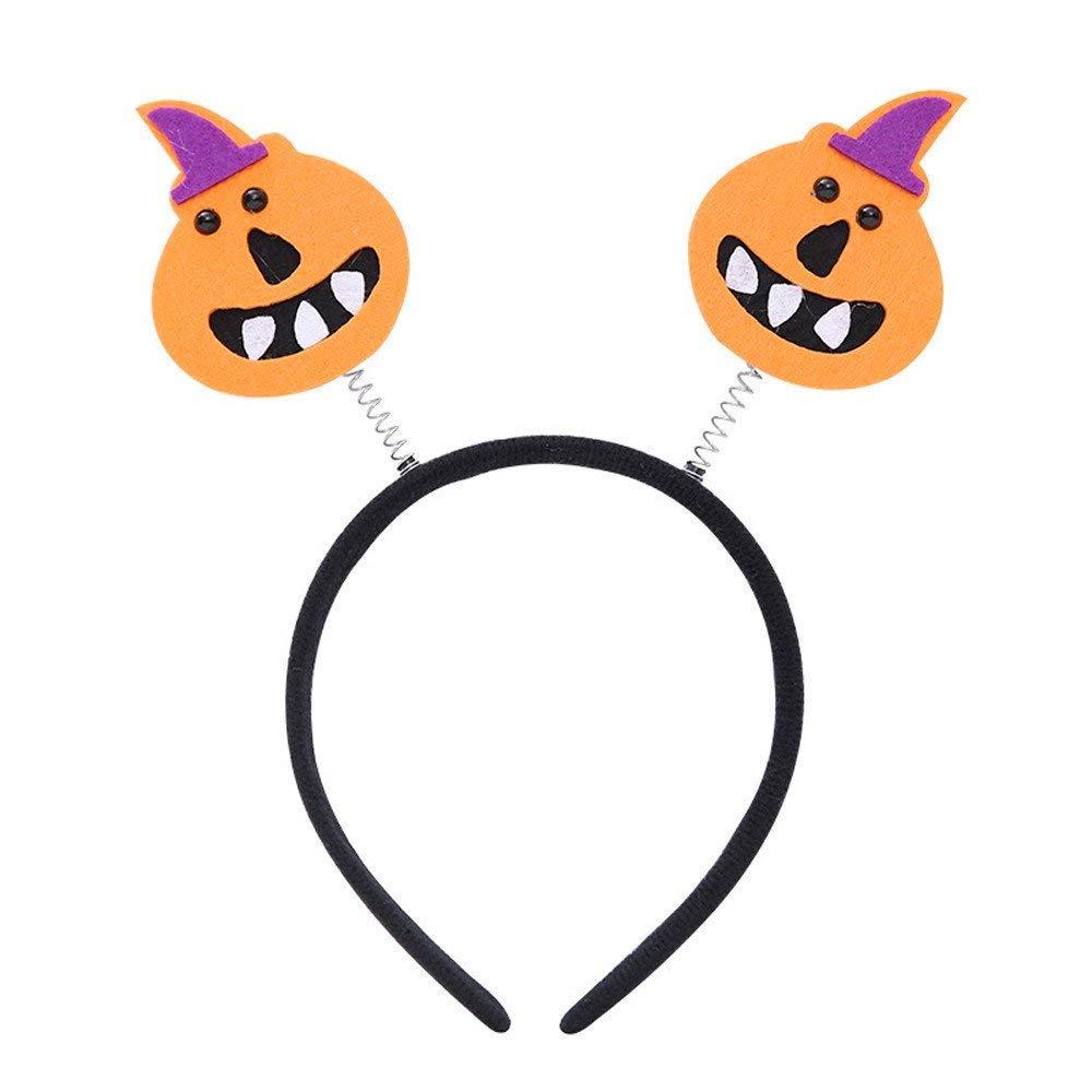 Qiusa Halloween Party Pumpkin Spider Party Props Diademas Vestir Accesorios (Color : Do): Amazon.es: Hogar