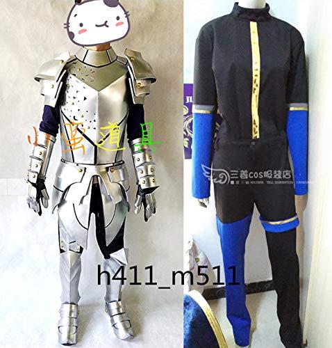 Fate/Grand Order FGO 円卓の騎士 円卓の騎士 全身鎧風 ガウェイン//ランスロット B07JZJRQT5 コスプレ衣装+手甲+靴の鎧 全身鎧風 B07JZJRQT5, コンクリートショップ:af8386fc --- ferraridentalclinic.com.lb