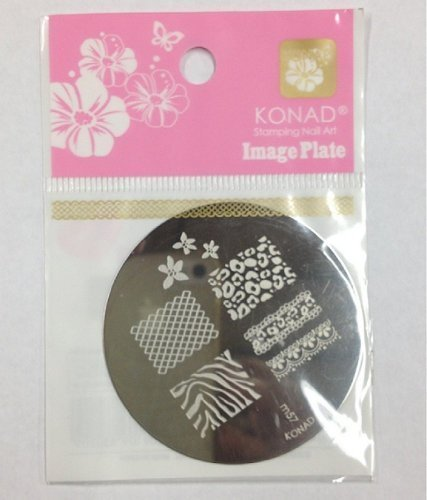 Konad Image Plates  Konad Stamping Nail Art Image Plate - M57