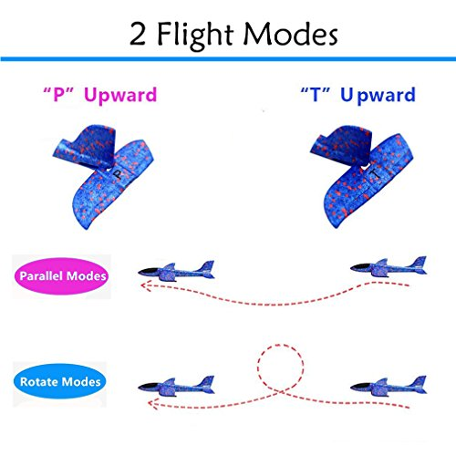 LOFEE Airplane Model Material for Boy,Light Model Plane Multi-Color Manual for 7.8.9 Year Old Toddler,Creative Gifts for Boy Girl Birthday Christmas Children's Day by LOFEE (Image #5)
