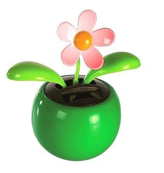 Fleur Solaire Automate Qui Danse Et Se Balance Vendu A L Unite